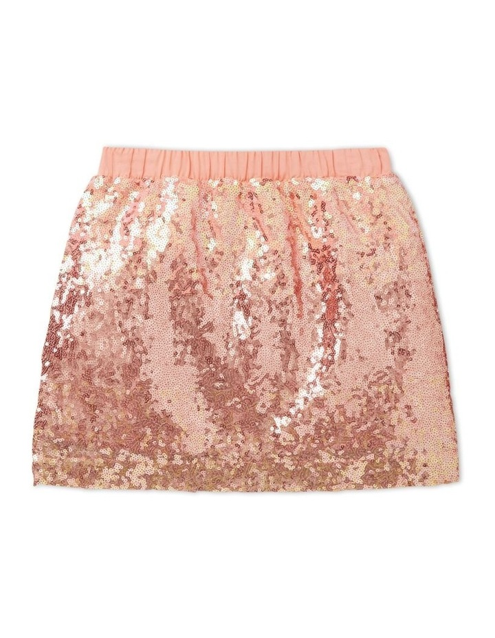Ombre Sequin Skirt image 1