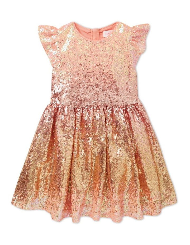 Ombre Sequin Dress image 1