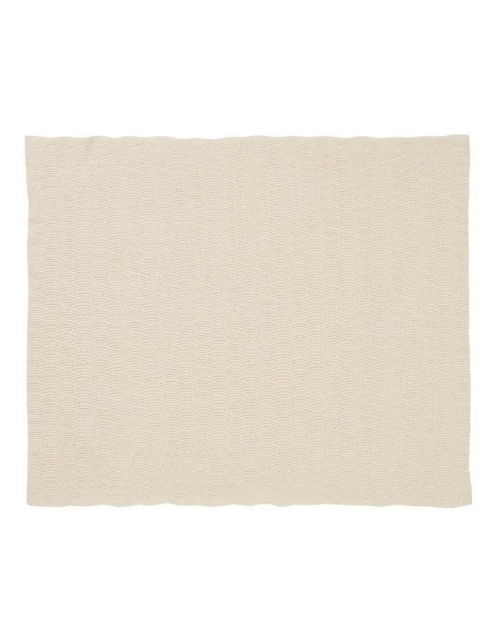 Pointelle Knitted Blanket image 2