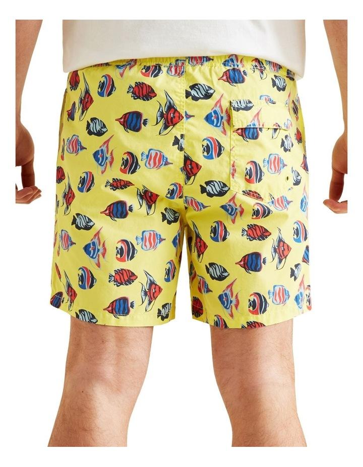 Mens Mini Me Fish Boardshort image 3