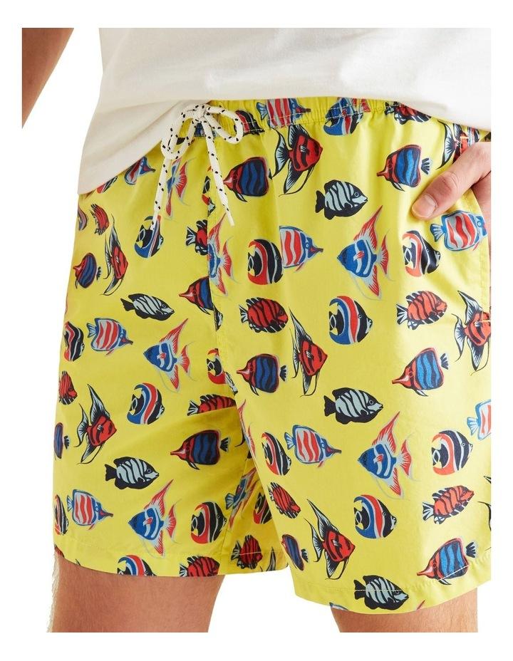 Mens Mini Me Fish Boardshort image 4