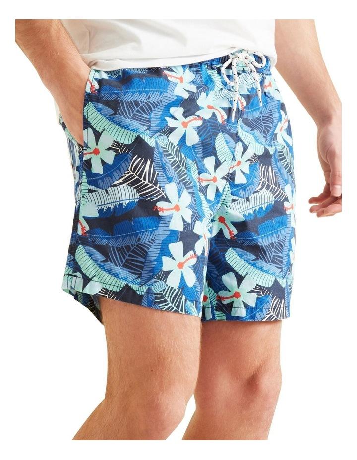 Mens Mini Me Tropical Boardshort image 1