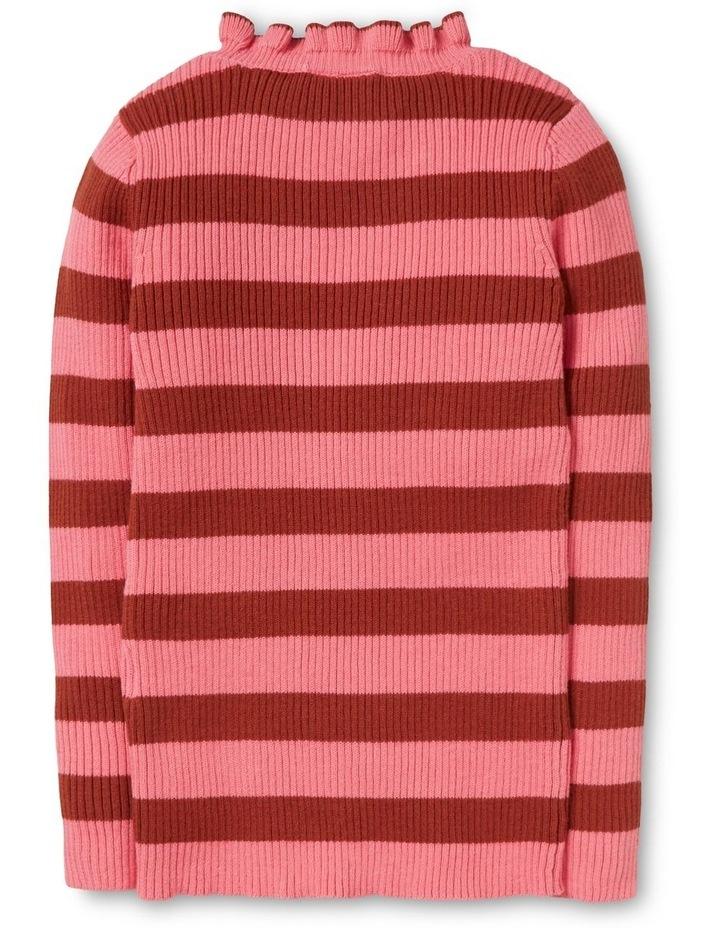 Stripe Rib Sweater image 2