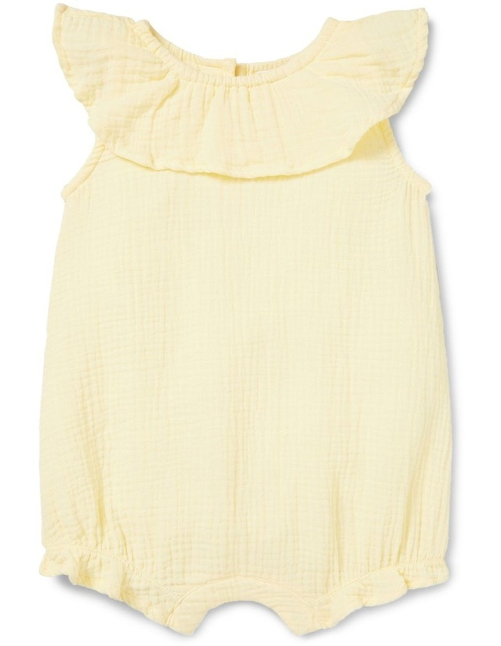 Cheesecloth Frill Romper image 1