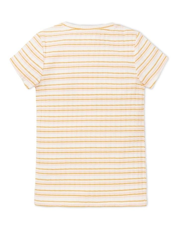 Rib Short Sleeve Tee image 2