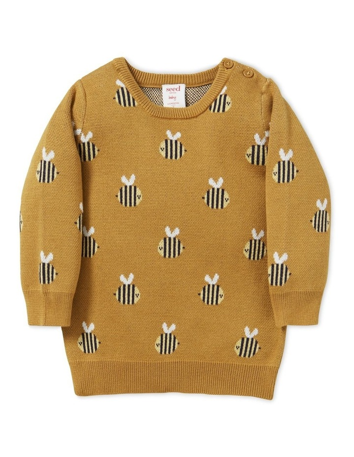 Bee Jacquard Sweater image 1