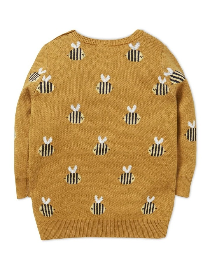 Bee Jacquard Sweater image 2