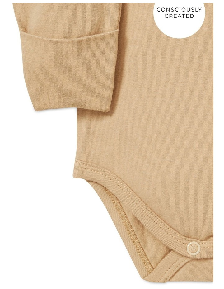 Organic Mitten Bodysuit image 3