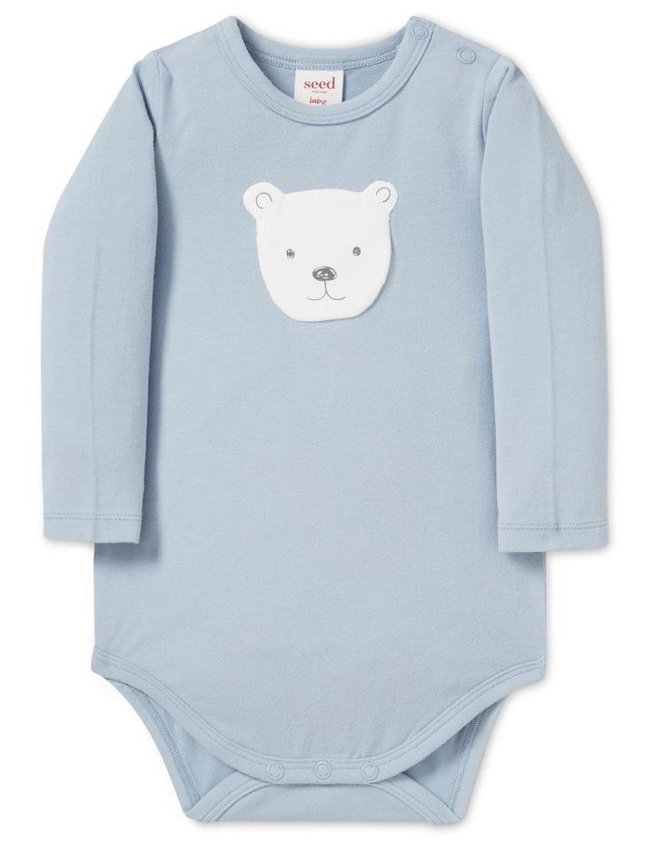 Bear Applique Bodysuit image 1