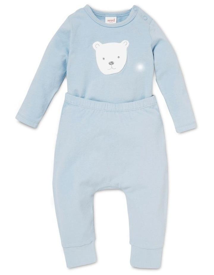 Bear Applique Bodysuit image 2
