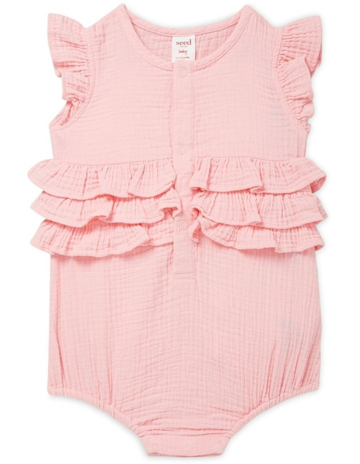 Frill Cheesecloth Onesie image 1