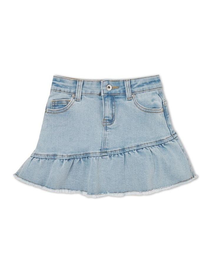Denim Frill Skirt image 1