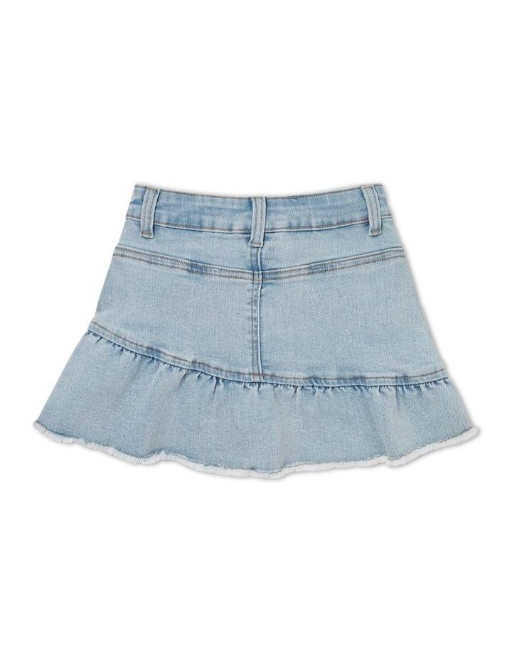 Denim Frill Skirt image 2