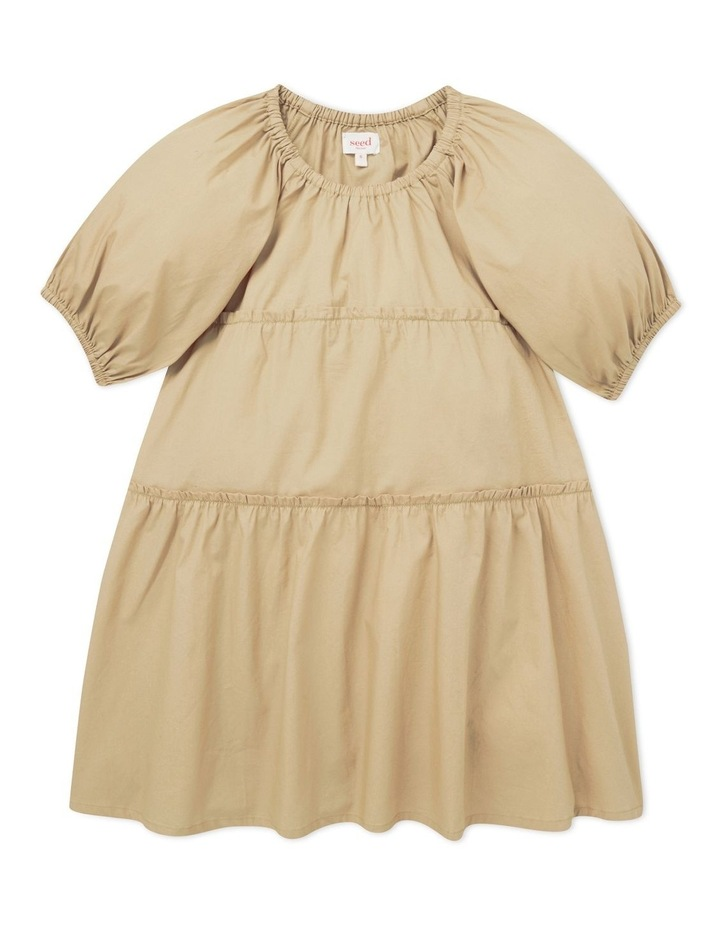 Poplin Tiered Dress image 1