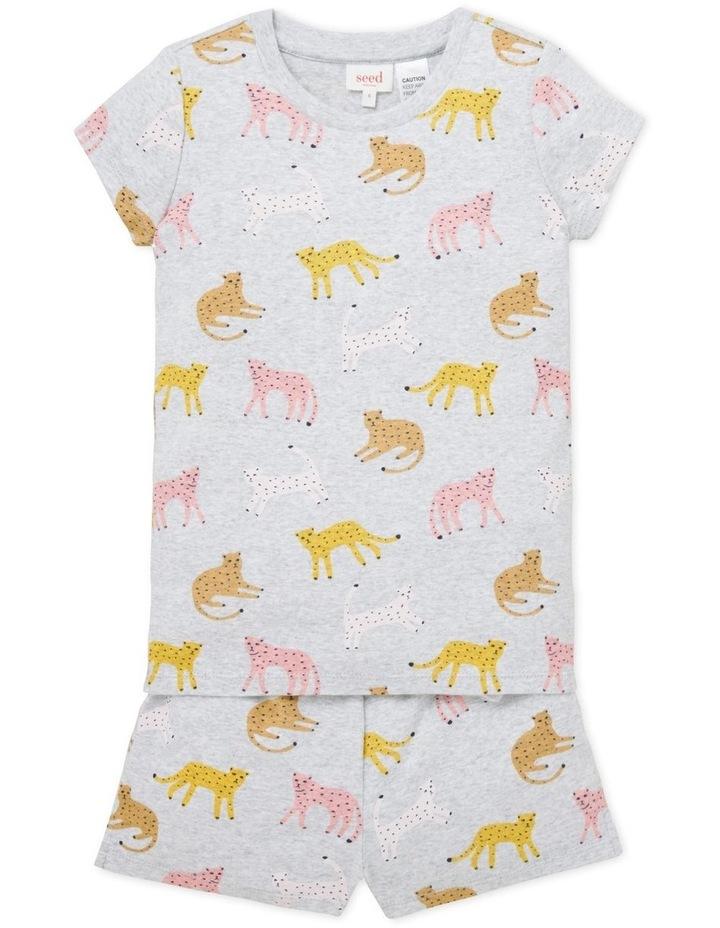 Leopard Short Sleeve Pyjama image 1