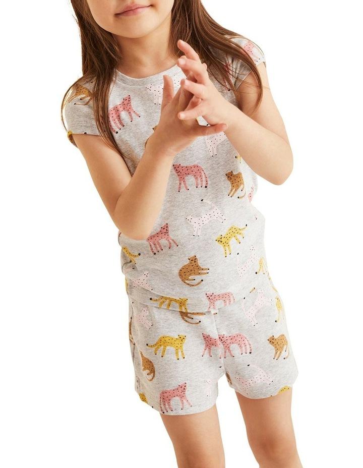 Leopard Short Sleeve Pyjama image 2