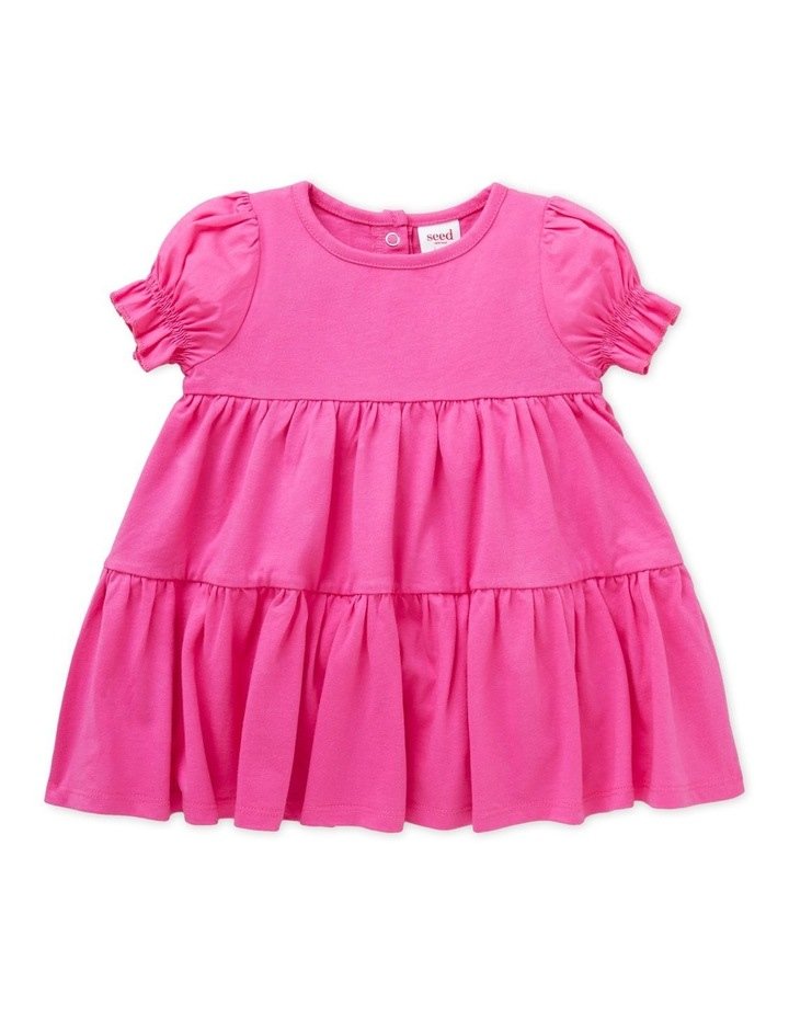 Tiered Jersey Dress image 1