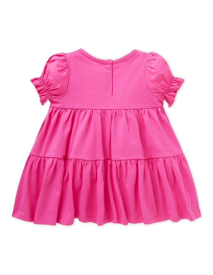 Tiered Jersey Dress image 2