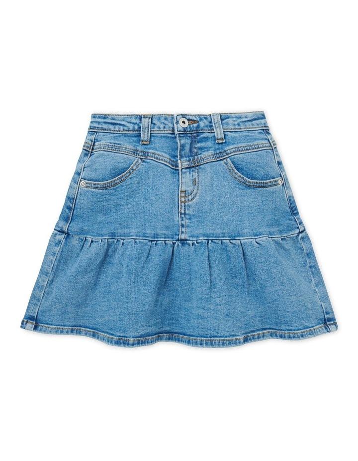 Ruffle Denim Skirt image 1