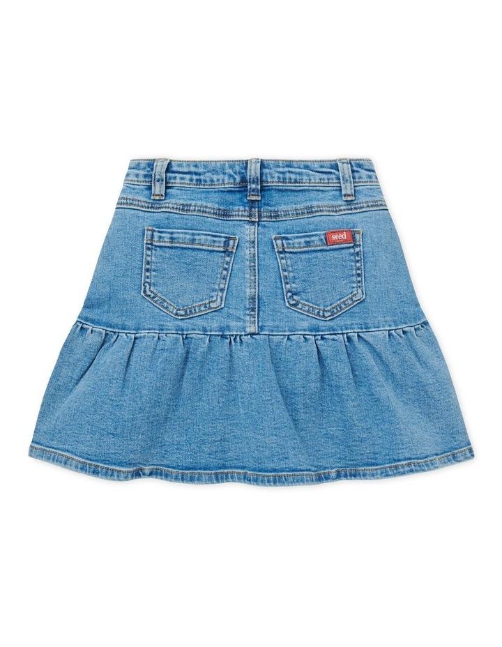 Ruffle Denim Skirt image 2