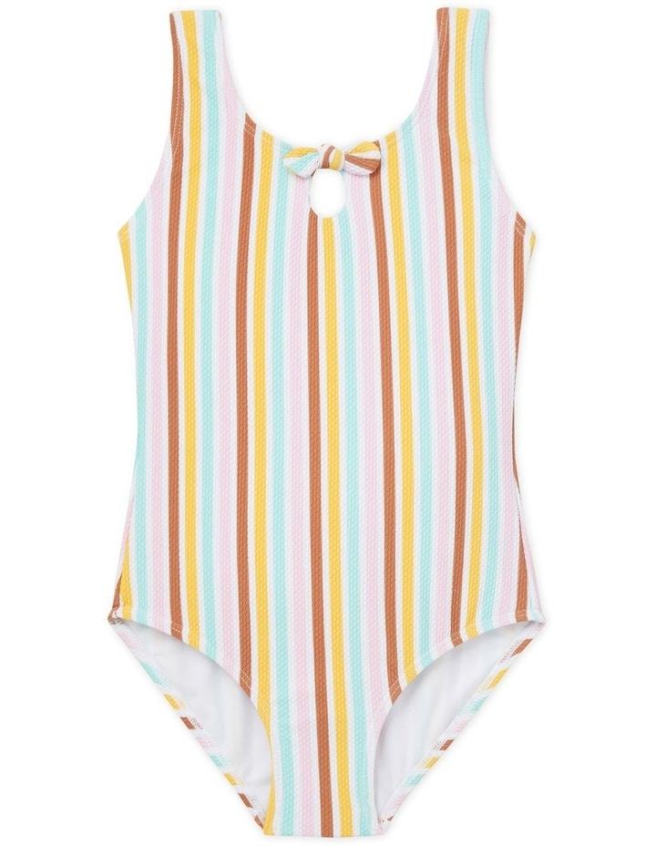 Stripe Bow Bather image 1