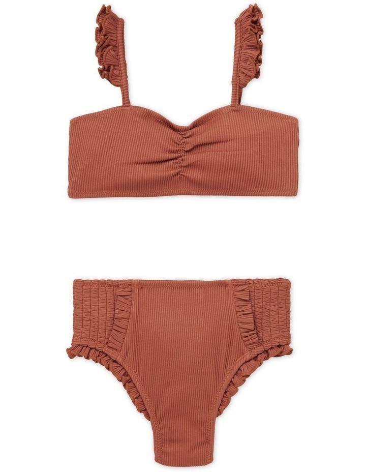 Rib Frill Bikini image 1