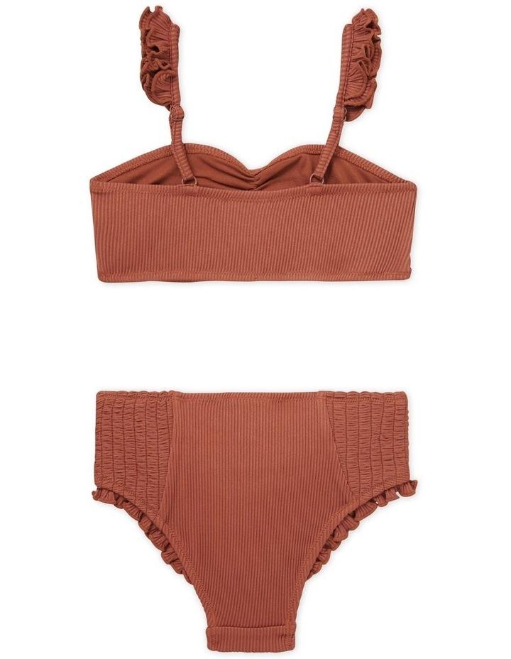 Rib Frill Bikini image 3
