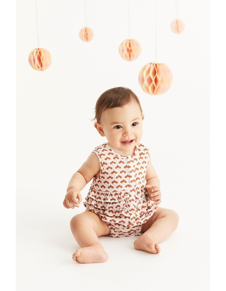 Cheesecloth Floral Onesie image 2