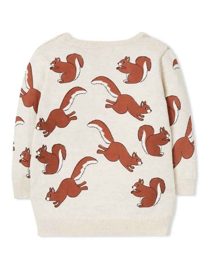Squirrel Crew Knit image 2