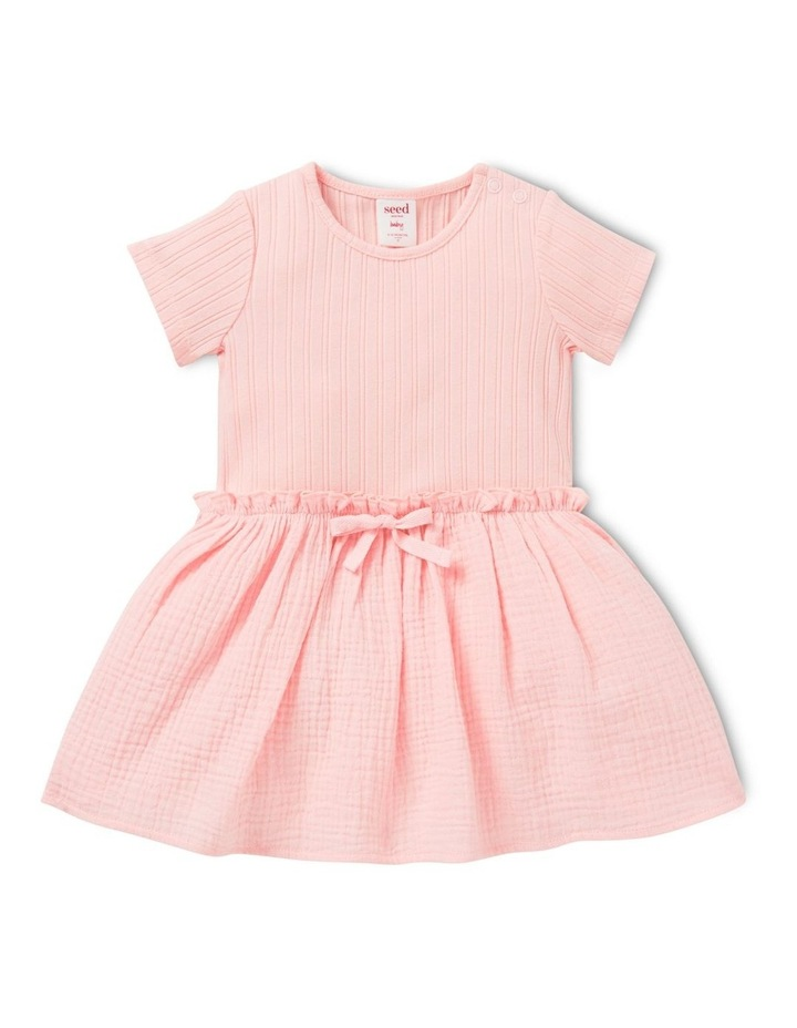Rib Splice Dress image 1