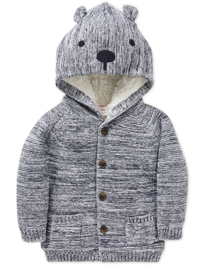 Novelty Knitted Hoodie image 1