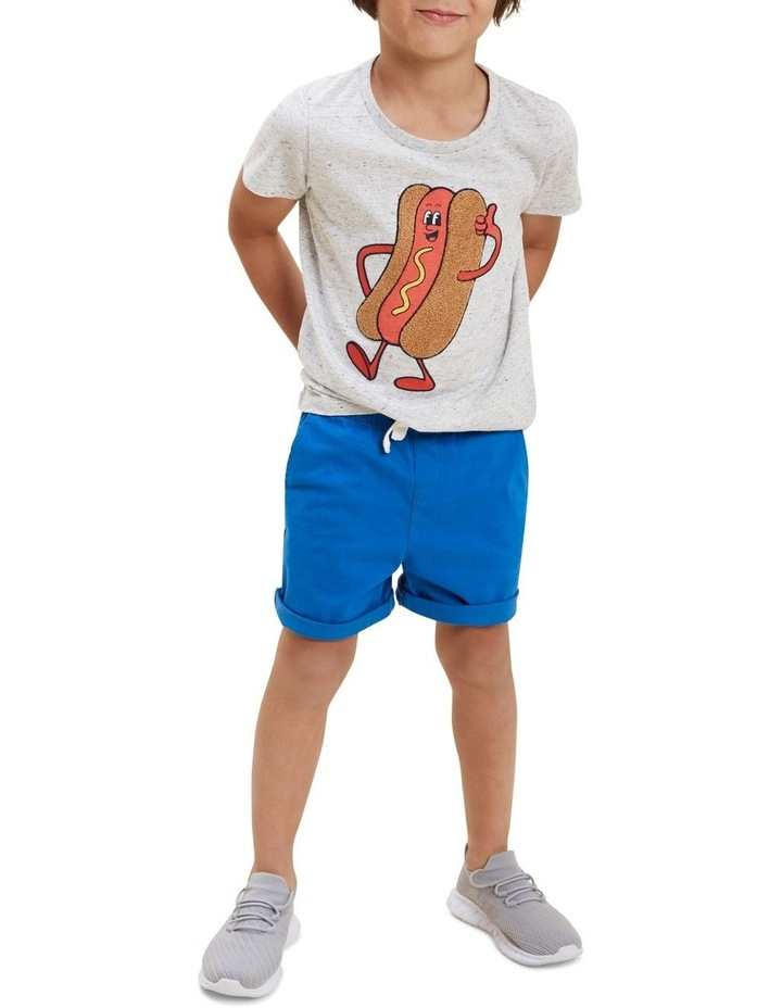 Chenille Hot Dog Tee image 4