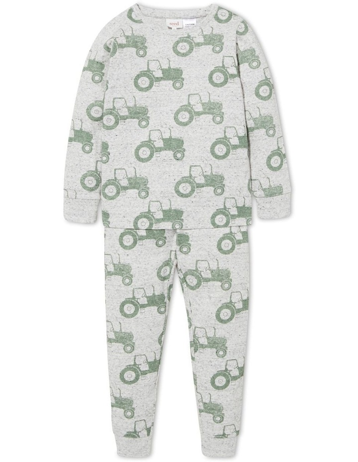 Tractor Long Sleeve Pyjamas image 1