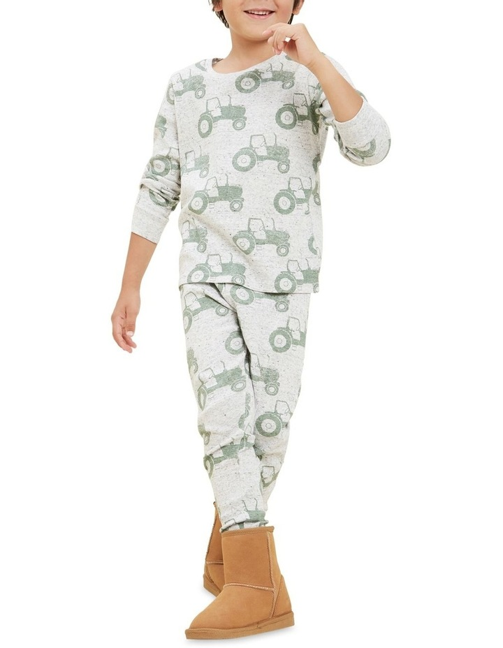 Tractor Long Sleeve Pyjamas image 3