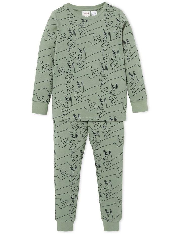 Bunny Long Sleeve Pyjamas image 1