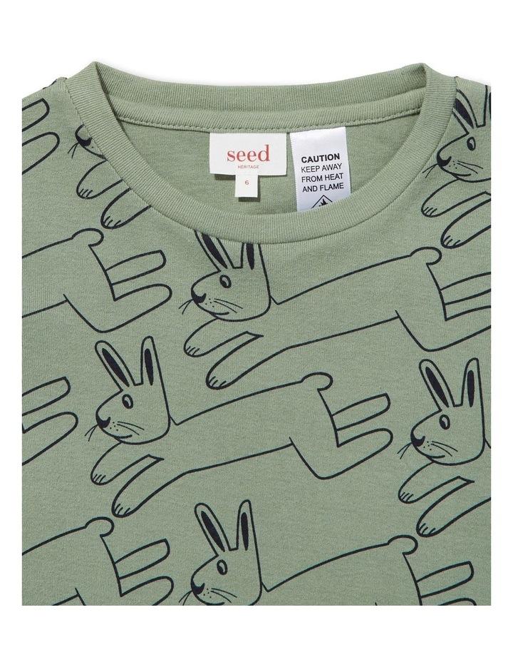 Bunny Long Sleeve Pyjamas image 2