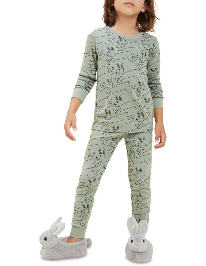 Bunny Long Sleeve Pyjamas image 3