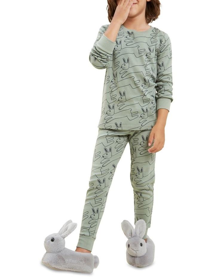 Bunny Long Sleeve Pyjamas image 4