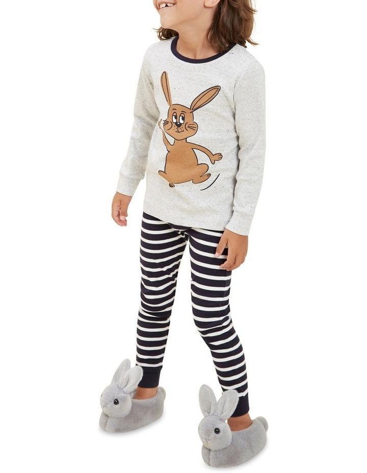 Bunny Stripe Long Sleeve Pyjamas image 5