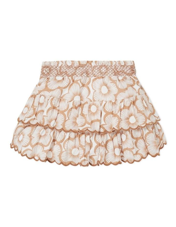 Shirred Floral Skirt image 2