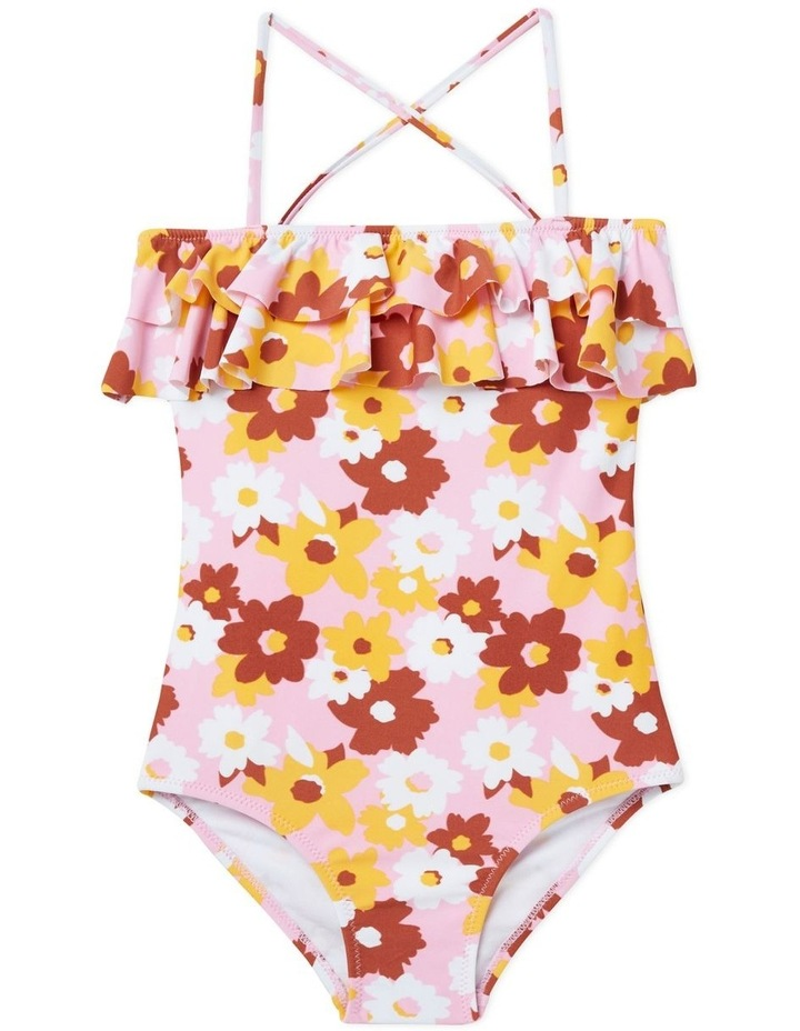 Floral Frill Bather image 1