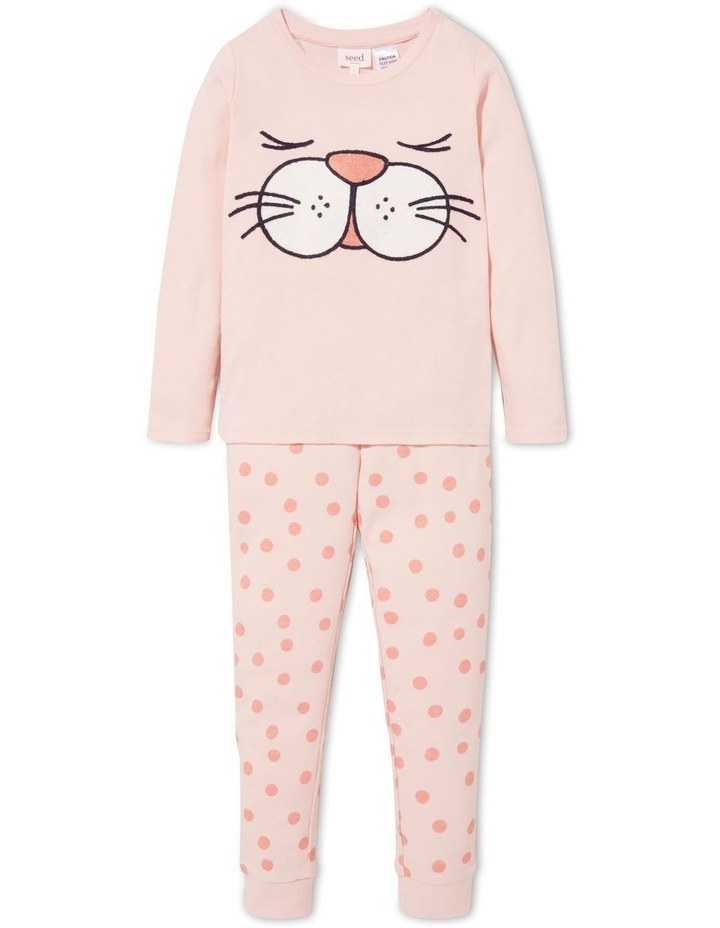 Bunny Face Long Sleeve Pyjamas image 1