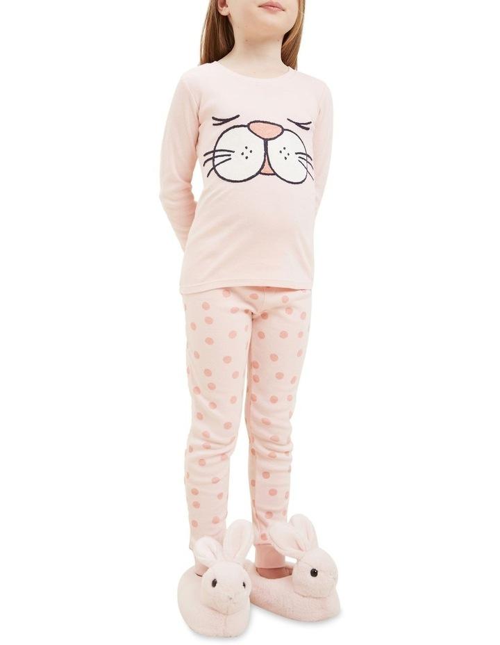 Bunny Face Long Sleeve Pyjamas image 3