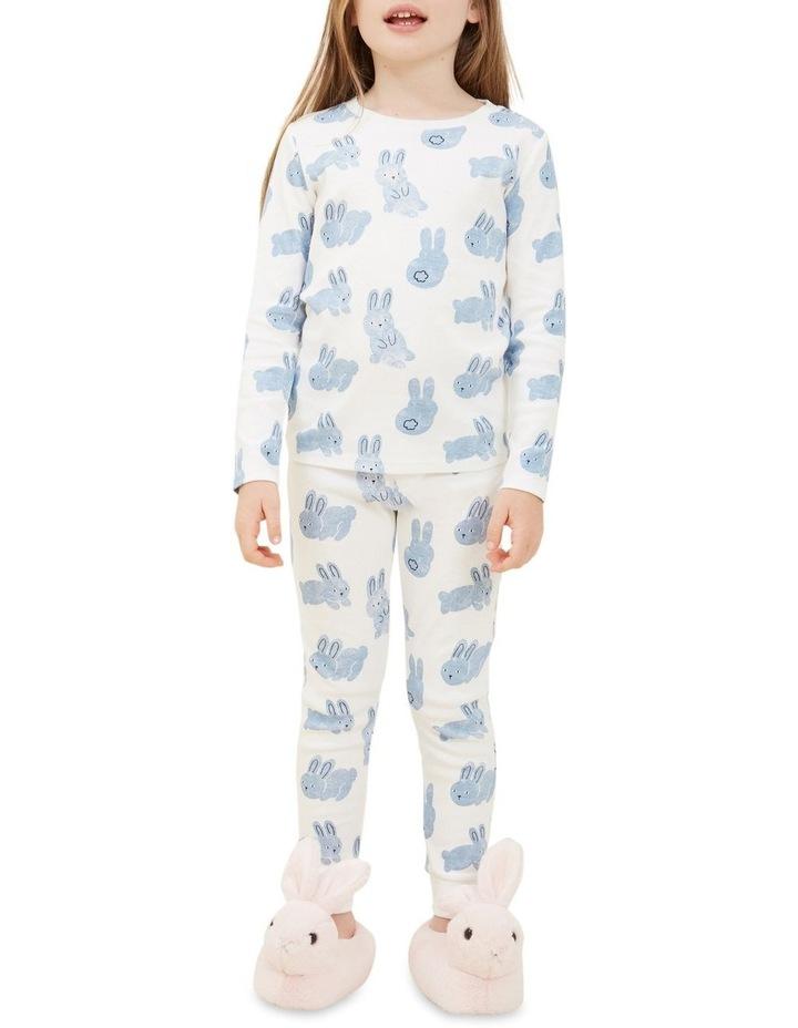 Blue Bunny Long Sleeve Pyjamas image 3