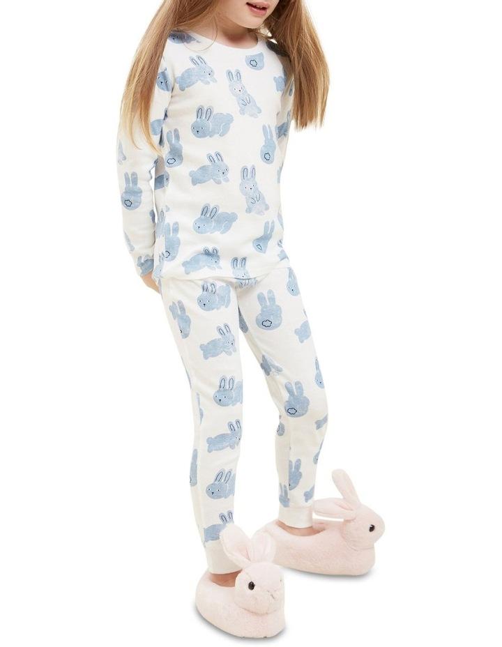 Blue Bunny Long Sleeve Pyjamas image 4