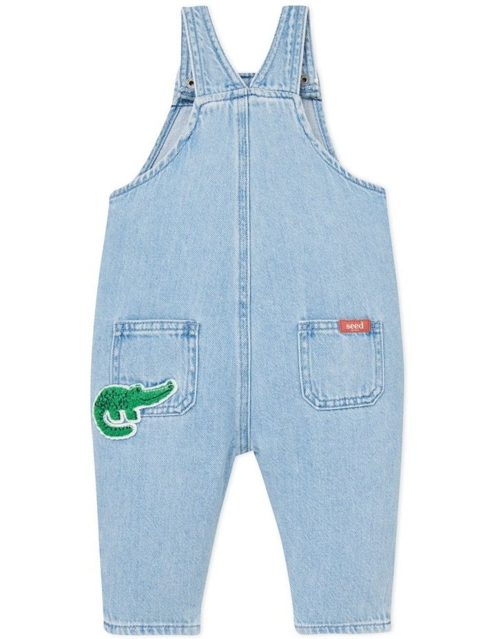 Patched Denim Overall image 3