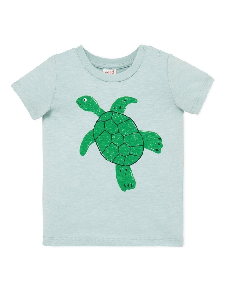 Turtle Print Tee image 1