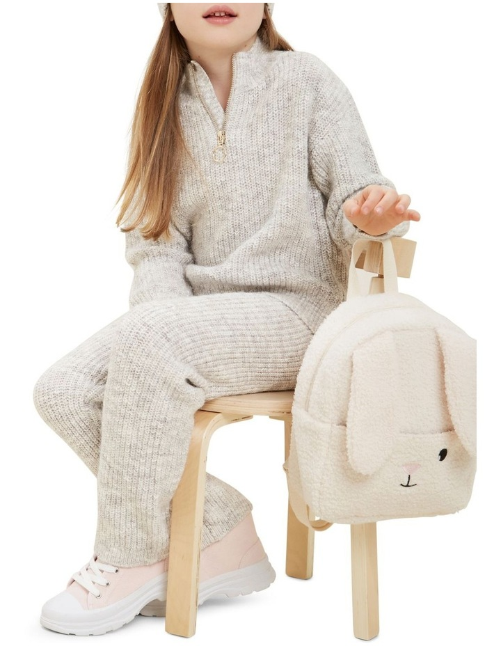 Zip Collar Knit Sweater image 5