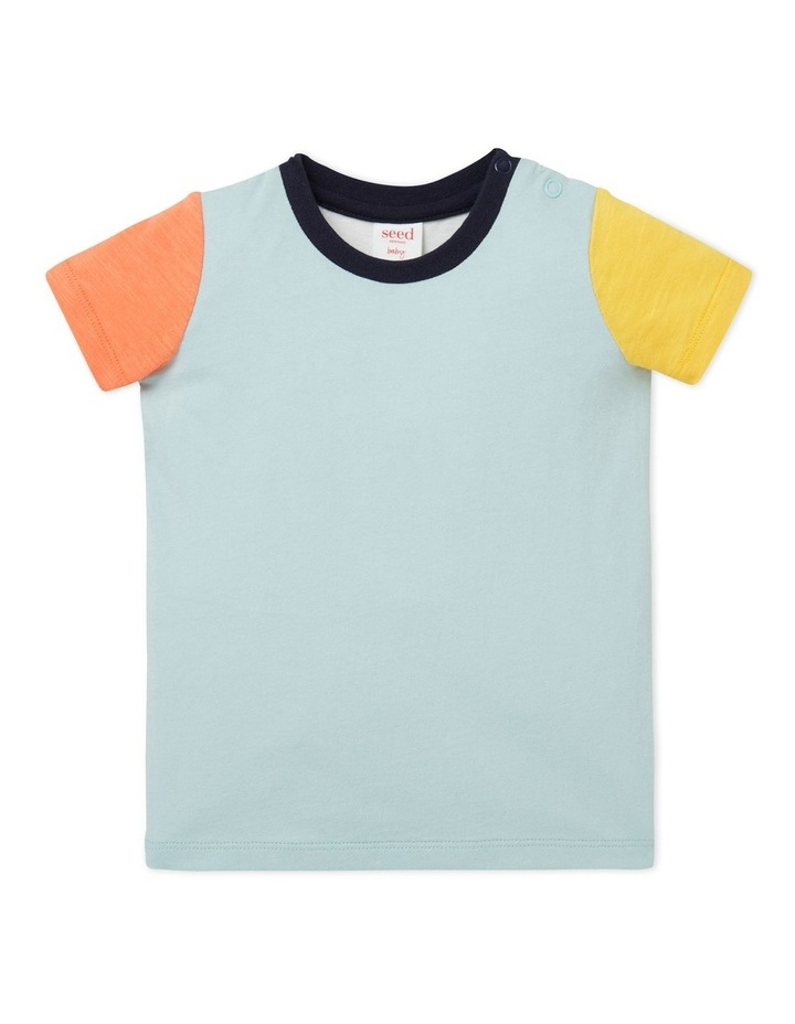 Colour Block Tee image 1