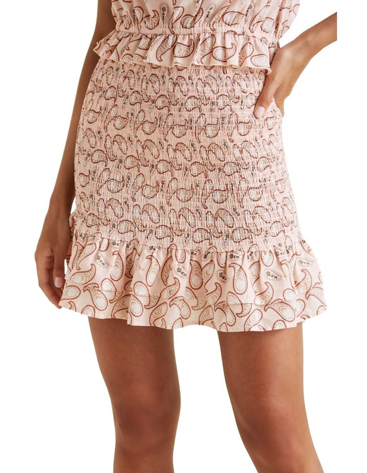 Paisley Smocked Skirt image 1